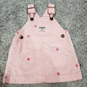Oshkosh Pink Overalls Dress
